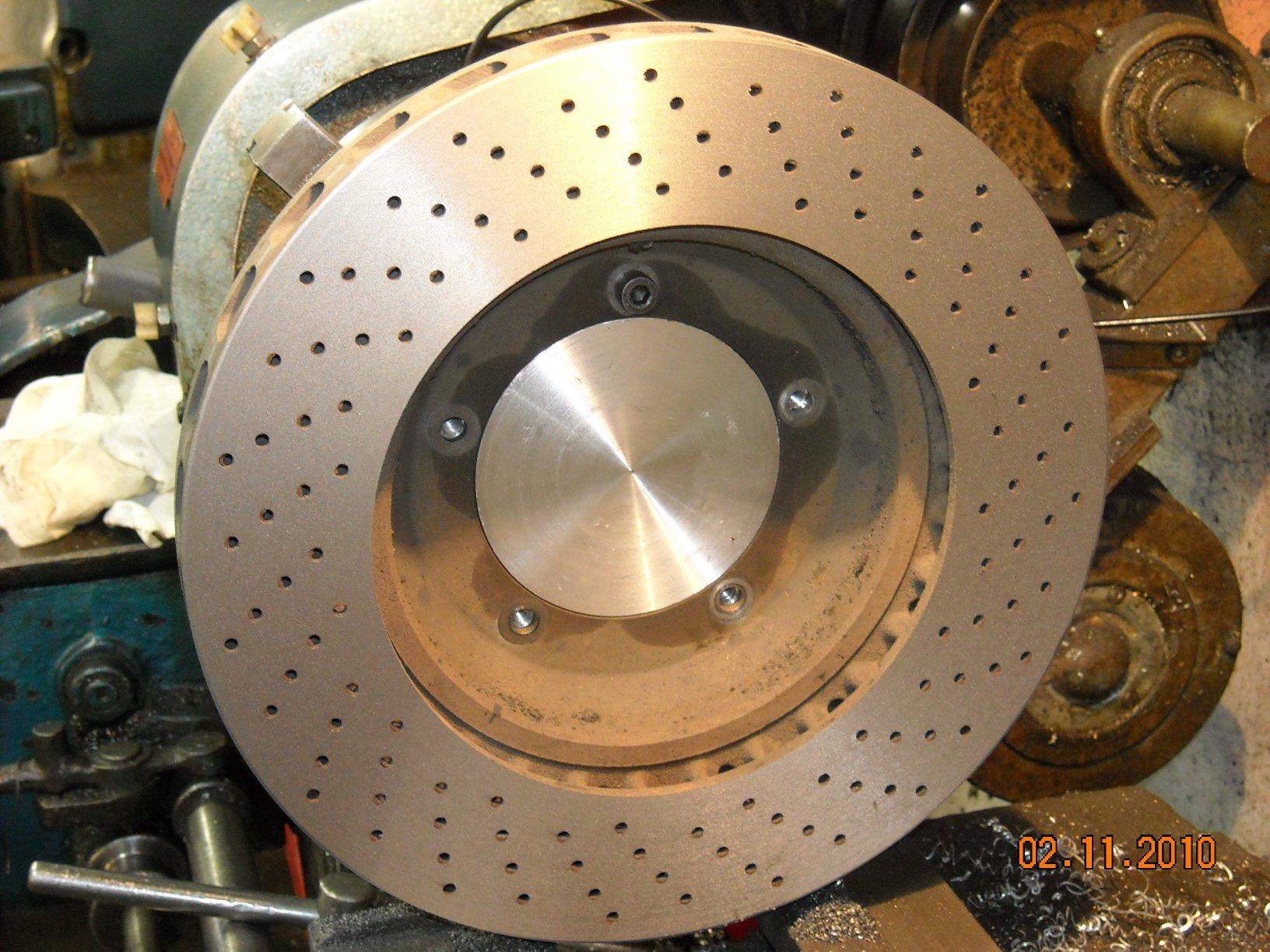 rectification disques de freins